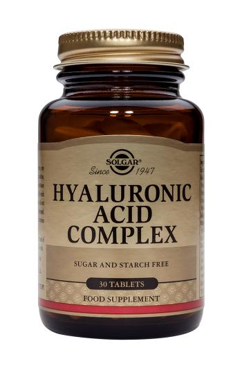 SOLGAR HYALURONIC ACID COMPLEX 30 COMP